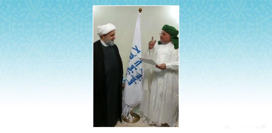 الدکتور شهریاری يلتقي مع رئيس علماء الرباط المحمدي في العراق | فيديو