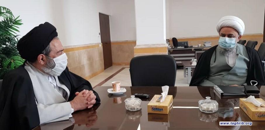 دیدار دبیرکل مجمع جهانی تقریب مذاهب اسلامی با نماینده ولی فقیه در امور حج و زیارت