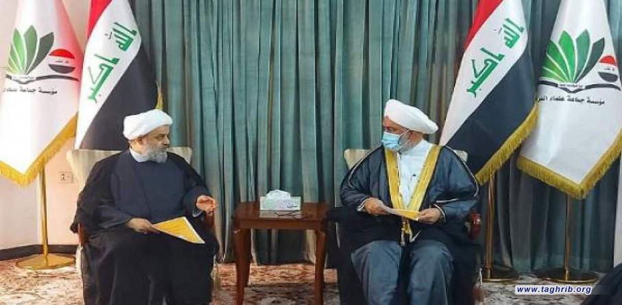 رئيس جماعة علماء العراق : يجب العمل بتوصيات قائد الثورة لتفعيل مشروع التقريب