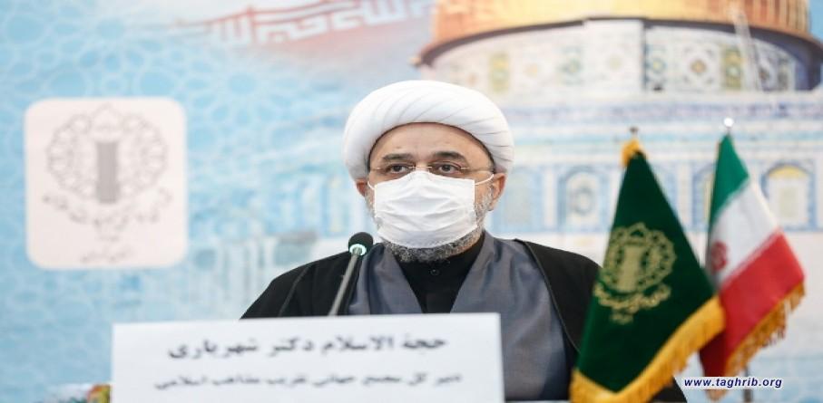 الدكتور الشيخ شهرياري : الكيان القائم على اساس الاحتلال والعدوان لا يدوم