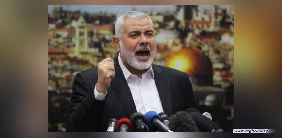 هنية يدعو الشعوب العربية والاسلامية للتظاهر نصرة لفلسطين