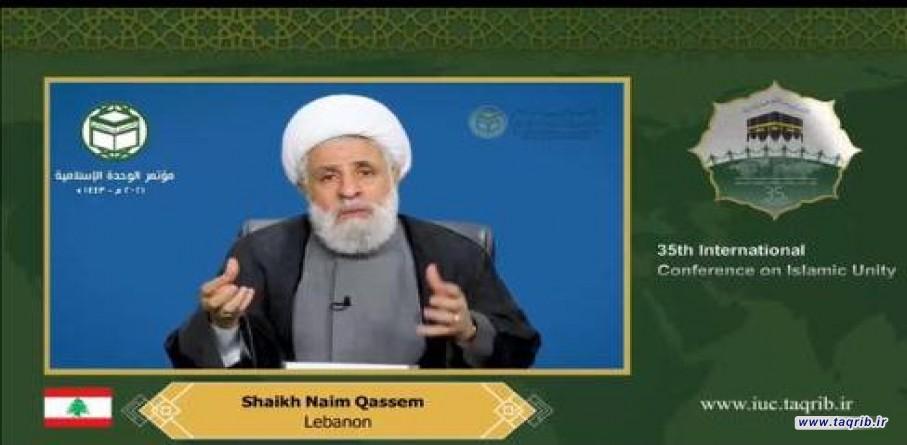 مواجهه با دشمنان امت اسلامی و حمایت از مقاومت از نشانه های التزام به وحدت هستند