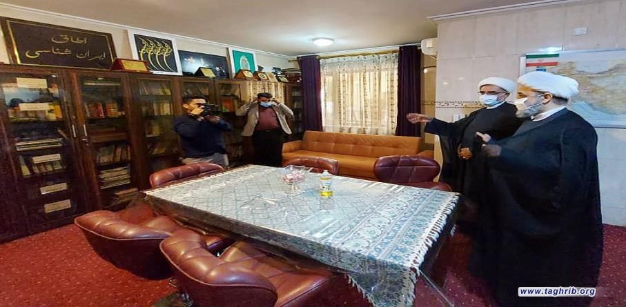 بازدید دبیرکل مجمع تقریب از مرکز فرهنگی ایران در بغداد