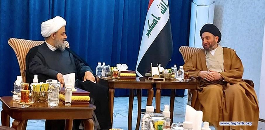 """الدكتور """"حميد شهرياري"""" يلتقي مع السيد عمار الحكيم في بغداد"""
