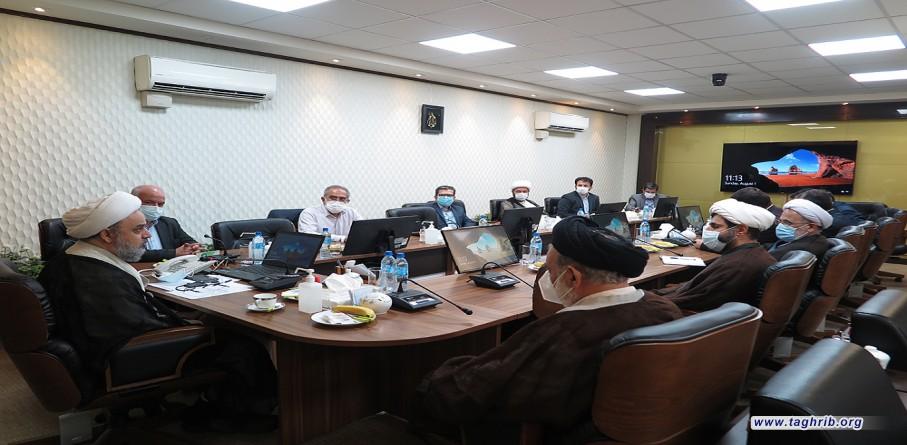 """حجة الاسلام و المسلمين الدكتور """"حميد شهرياري"""" يشارك في اجتماع مجلس معاوني المجمع"""