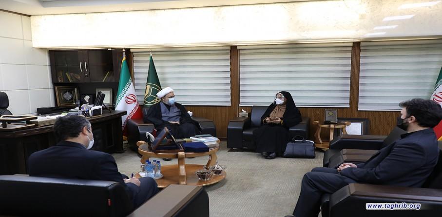 دیدار خانم ریگی سفیر ایران در برونئی با دبیرکل مجمع جهانی تقریب مذاهب اسلامی